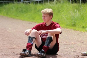 """Christoph """"Tiger"""" Hauke traf  im Pokalspiel gegen den Bezirksligisten aus Sundern"""