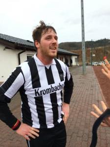 Dreifach-Torschütze Christian Schrottka